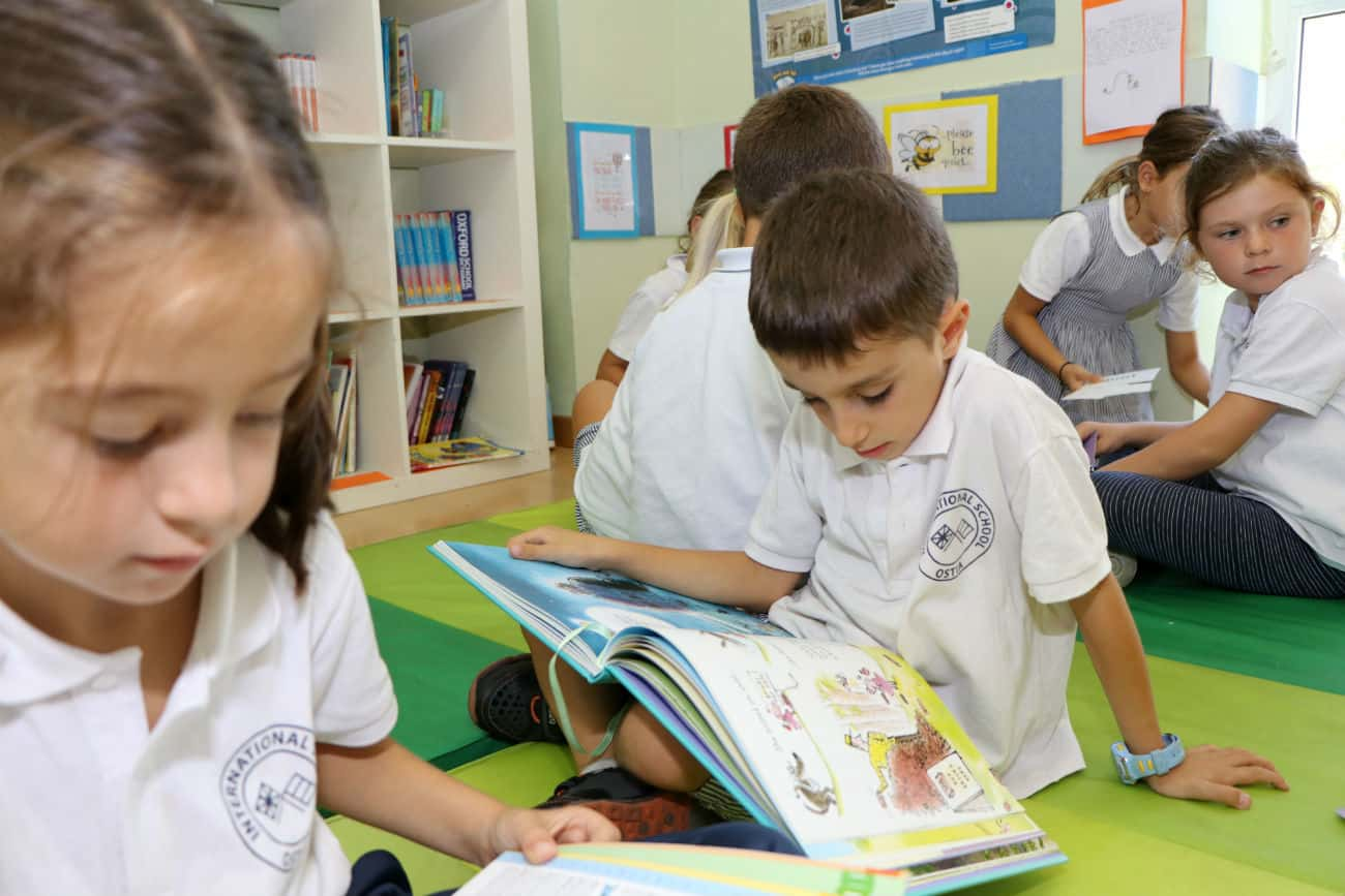 ois ostia international school reading time
